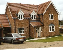 New build house in Leiston