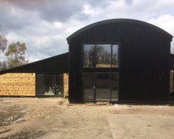 Conversion of dutch barn to living space, Bury St Edmunds