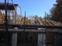 New Timber framed house in Bury St Edmunds