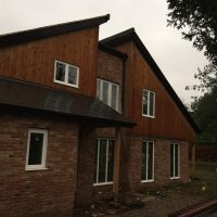 Grand Design Timber frame House in Norwich