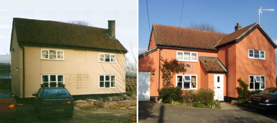 Cottage renovation in Suffolk by building project manager