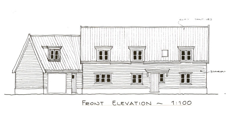 Grand design timber frame new build house in Drinkstone, Suffolk