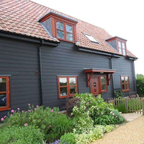 Grand design timber framed house Suffolk
