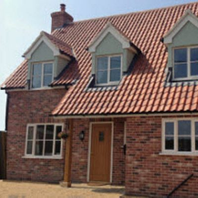 traditional build cottage Rattlesden